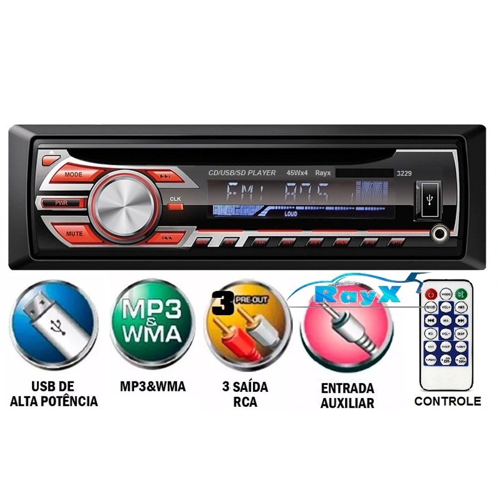 Auto-Radio-Cd-Player-Mp3-Usb-Sd-Card-Auxiliar-Rayx-Similar-Pioneer