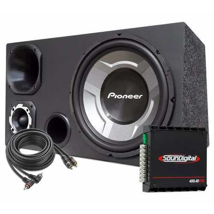 Caixa-Som-Trio-12-Sub-Pioneer---Modulo-Soundigital-Sd-400