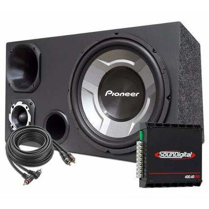 Caixa-Som-Trio-Gravao-12-Sub-Pioneer---Modulo-Soundigital