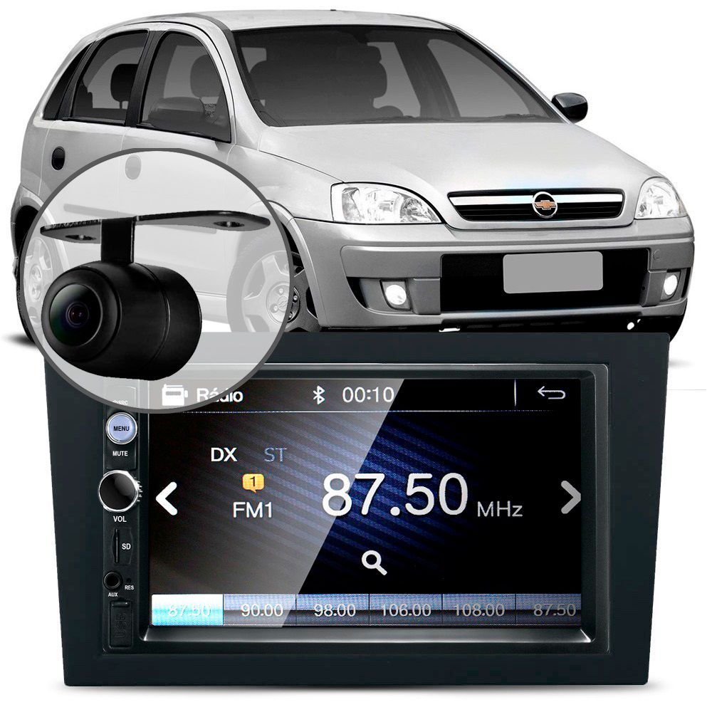 Central-Multimidia-Mp5-Corsa-Camera-Bluetooth-Espelhamento