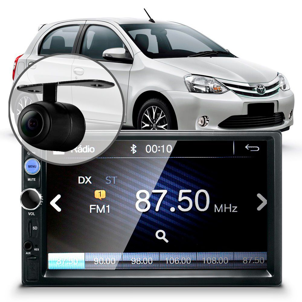 Central-Multimidia-Mp5-Etios-Camera-Bluetooth-Espelhamento-Android