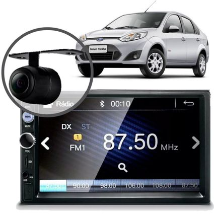 Central-Multimidia-Mp5-Fiesta-Sedan-2006-Camera-Bluetooth-Espelhamento