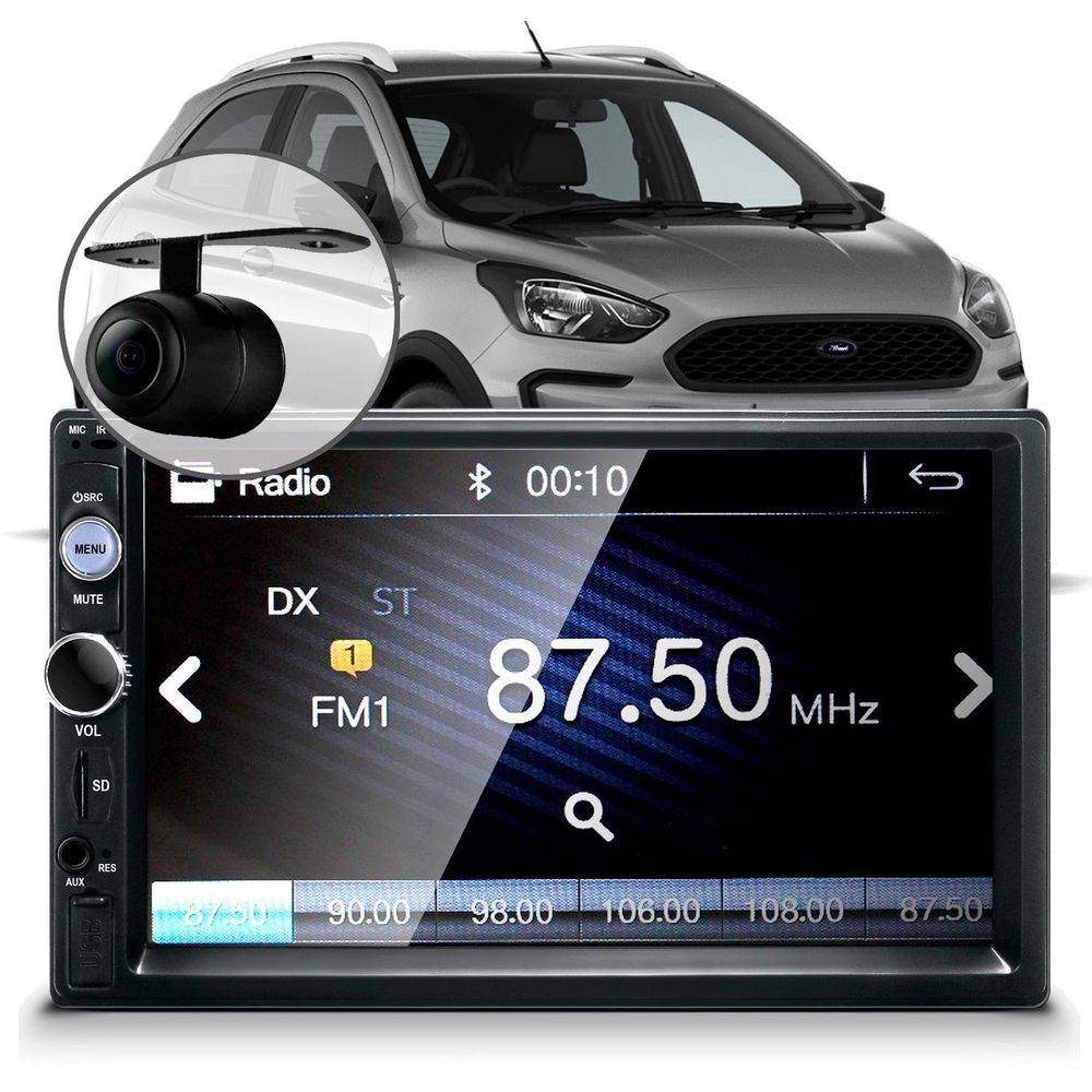 Central-Multimidia-Mp5-Ford-Ka-2014-Camera-Espelhamento-Bluetooth