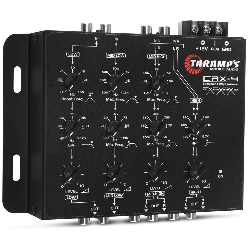 Crossover-Taramps-Crx4-De-4-Vias-Eletronico-Som-Automotivo