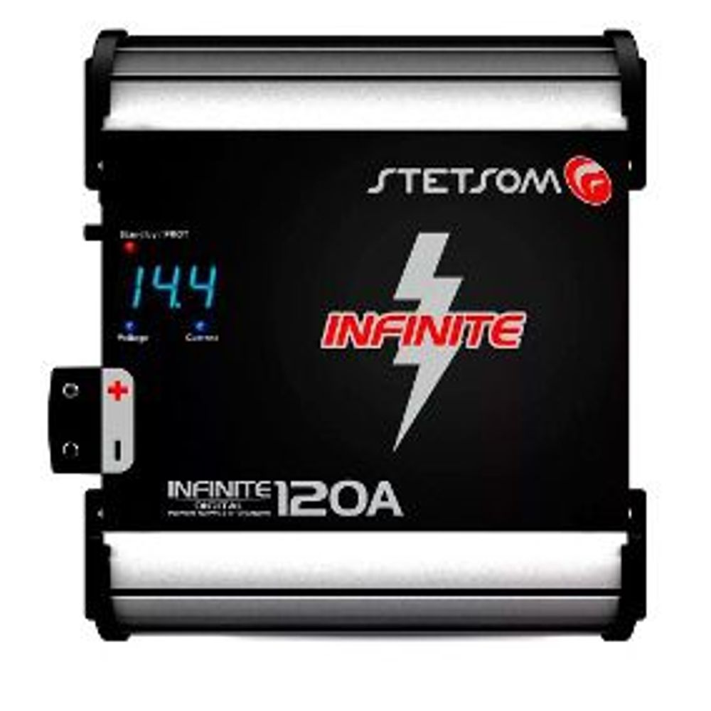 Fonte-Automotiva-Stetsom-Infinite-120-Ampers-Carregador-Digital-com-Voltimetro