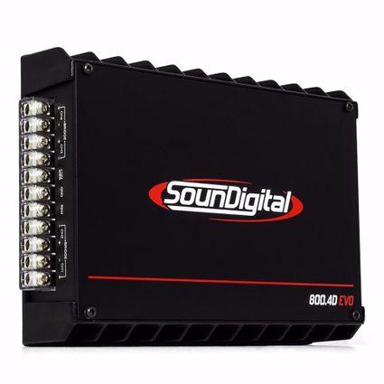 Modulo-Amplificador-Soundigital-Sd-800.4-EVO-800w-Rms-4-Canais-De-200w-Rms