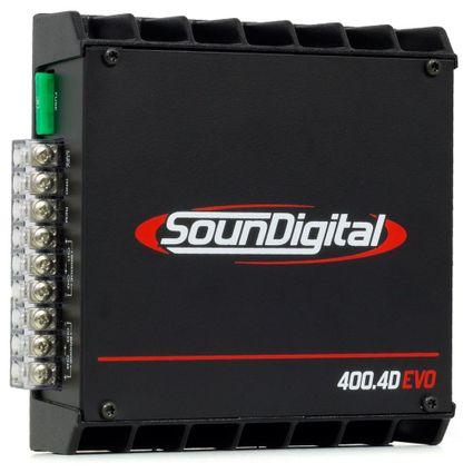 Modulo-Amplificador-Soundigital-Sd-400.4-Evo-4-Canais-100w-Rms-cada