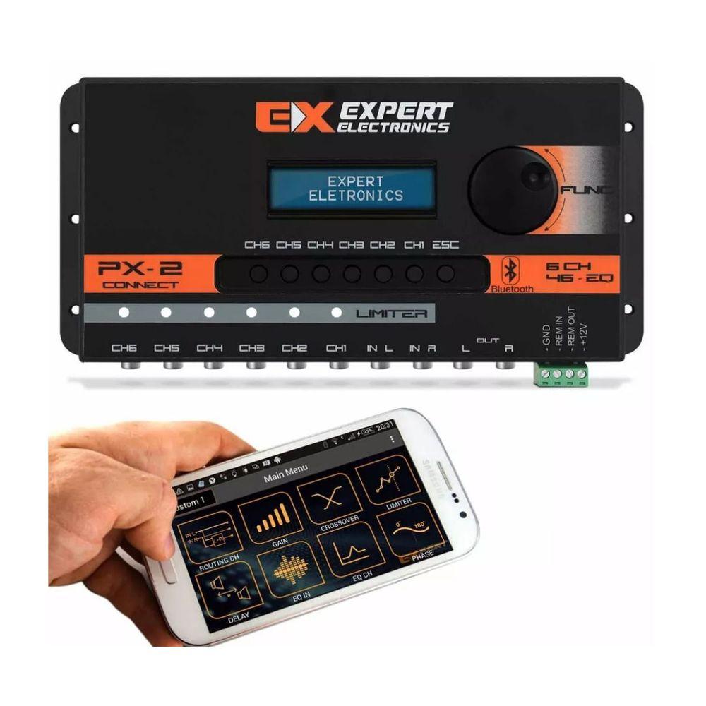 PROCESSADOR-DIGITAL-EXPERT-PX-2-CONNECT---6-CANAIS-BLUETOOTH