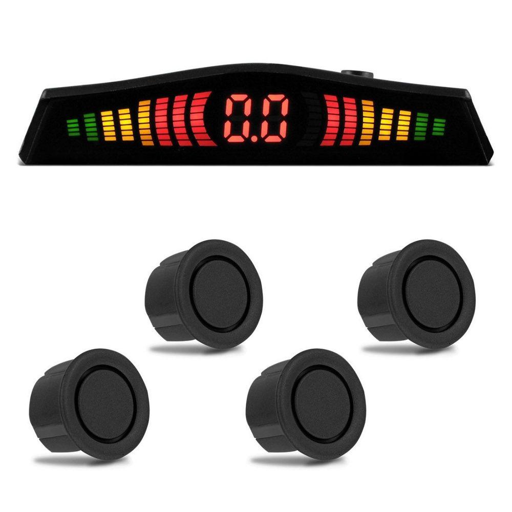 Sensor-Estacionamento-4-Pontos-Grafite-Display-Led-Colorido