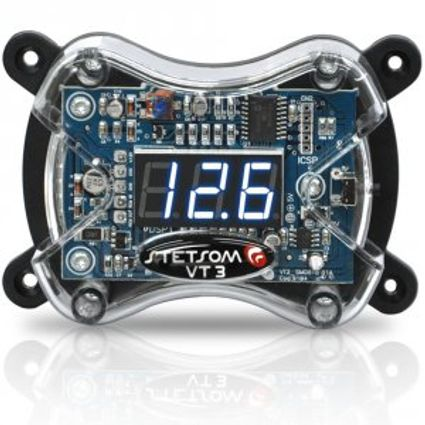 Voltimetro-Stetsom-Vt3-Digital-Protege-Som-Modulo-Bateria