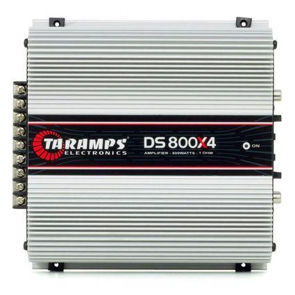 Modulo-Amplificador-Taramps-DS-800x4-Compact-4-Canais-800w-Rms