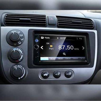 Central-Multimidia-Mp5-Civic-Camera-Bluetooth-Espelhamento-Android