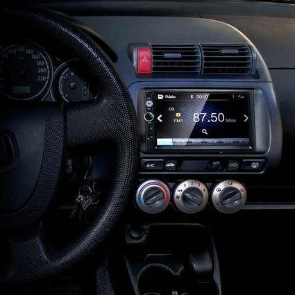 Central-Multimidia-Mp5-Honda-Fit-Cam-Bluetooth-Espelhamento-Android