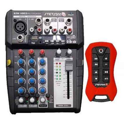 Mesa-Stm1003-3canais-Bt-Sd-Fm-Auxiliar-Controle---Microfone