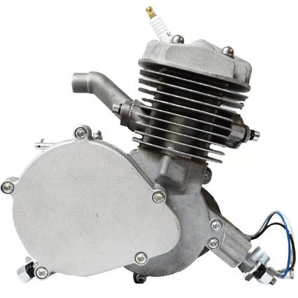 Kit-Motor-Bicimoto-P--Bicicleta-Motorizada-Prata-80cc-2-Tempos