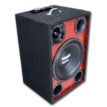 Caixa-Ativa-Trio-Fonte---Modulo-Taramps-Woofer-Bluetooth-Usb
