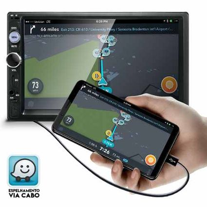 Central-Multimidia-Mp5-Fiat-Strada-Camera-Bluetooth-Espelhamento
