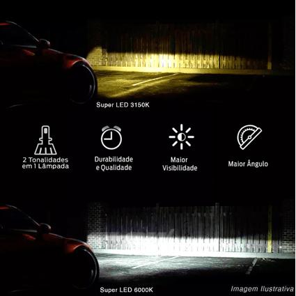 Kit-Lampada-UltraLed-ShockLight-H16-3150k-6000k-25w-12v-Dual-Color